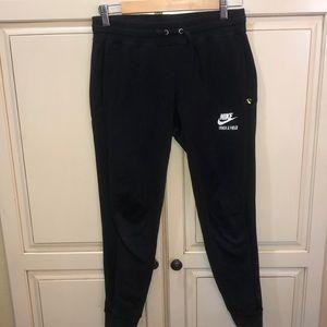 Nike track and field sweatpants